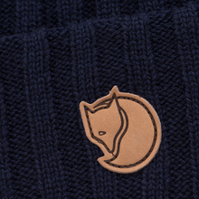 Шапка Fjallraven Byron Wool Dark Navy фото- 1