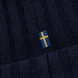 Шапка Fjallraven Byron Wool Dark Navy фото- 3