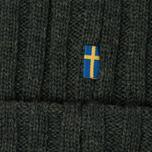 Шапка Fjallraven Byron Wool Dark Olive фото- 2