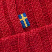 Шапка Fjallraven Byron Wool Red фото- 3