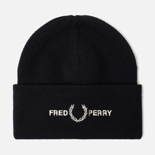Шапка Fred Perry Graphic Black фото- 0
