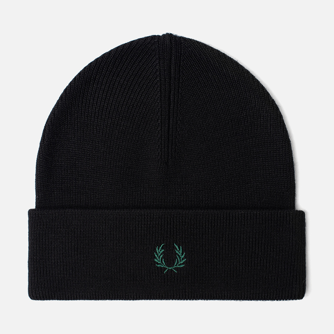 Шапка Fred Perry Merino Wool Black