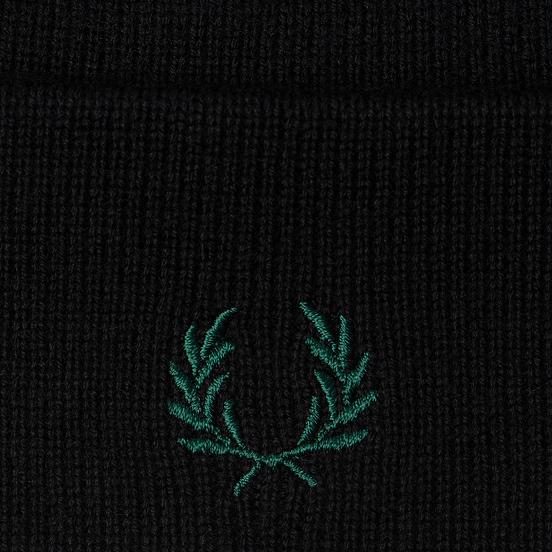 Шапка Fred Perry Merino Wool Black