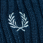 Шапка Fred Perry Ribbed Beanie Indigo фото- 1