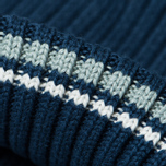 Шапка Fred Perry Ribbed Beanie Indigo фото- 2