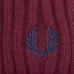 Шапка Fred Perry Ribbed Beanie Rosewood фото- 1