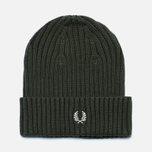Шапка Fred Perry Ribbed Beanie Wren фото- 0