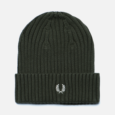 Шапка Fred Perry Ribbed Beanie Wren