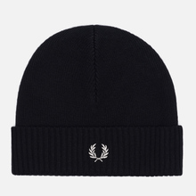 Шапка Fred Perry Roll Up Black фото- 0