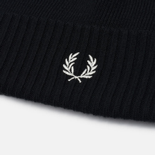 Шапка Fred Perry Roll Up Black фото- 1