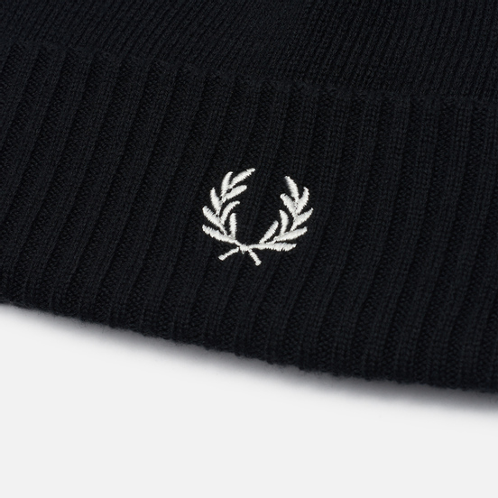 Шапка Fred Perry Roll Up Black
