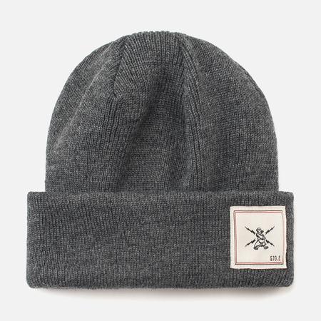 GJO.E 9H12 Hat Grey Melange
