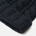 Шапка Maison Kitsune Cable Knitted Black фото- 2