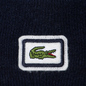 Шапка Lacoste Badge Thick Wool Blend Navy Blue фото - 1