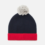 Шапка Lacoste Bobble Red/Grey/Navy фото- 3