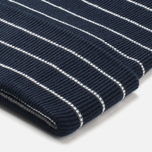 Lacoste Live Beanie Striped Jersey Hat Navy/White photo- 2