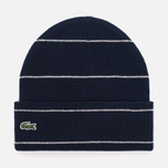 Шапка Lacoste Live Wool And Alpha Costanes Eclipse Blue/Cliff фото- 0