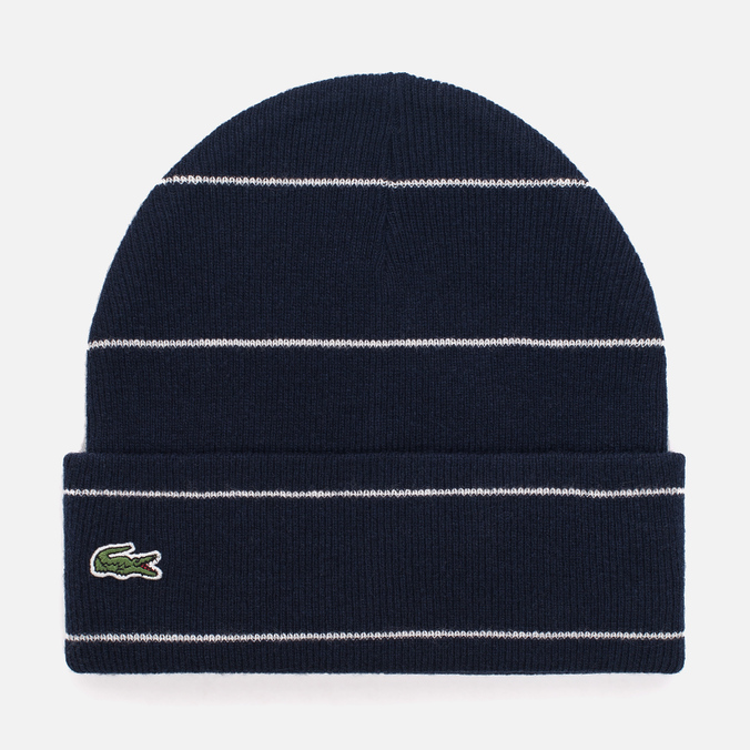 Шапка Lacoste Live Wool And Alpha Costanes Eclipse Blue/Cliff