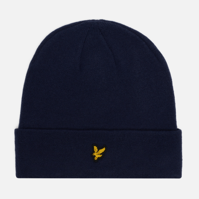 Шапка Lyle & Scott Beanie Dark Navy