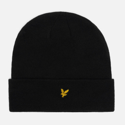Шапка Lyle & Scott Beanie True Black