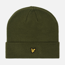 Шапка Lyle & Scott Beanie Woodland Green фото- 0