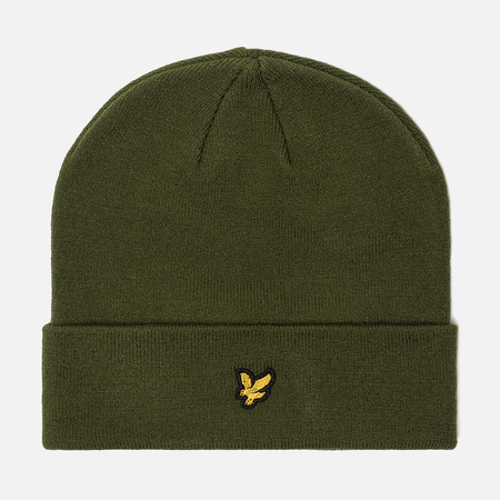 Шапка Lyle & Scott Beanie Woodland Green