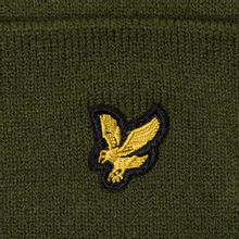 Шапка Lyle & Scott Beanie Woodland Green фото- 1