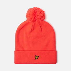 Шапка Lyle & Scott Bobble Beanie Grenadine Red