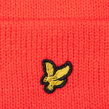 Шапка Lyle & Scott Bobble Beanie Grenadine Red фото- 3