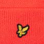 Шапка Lyle & Scott Bobble Beanie Grenadine Red фото - 3