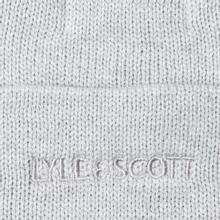 Шапка Lyle & Scott Bobble Beanie Light Grey Marl фото- 2