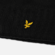 Шапка Lyle & Scott Bobble Beanie True Black фото- 3
