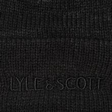Шапка Lyle & Scott Bobble Beanie True Black фото- 2