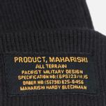 Шапка Maharishi Chi Rib Black фото- 1