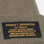 Шапка Maharishi Chi Rib Maha Olive фото- 1