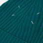 Шапка Maison Margiela Ribbed Wool Petrol Green фото - 1
