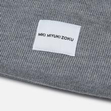 Шапка MKI Miyuki-Zoku Merino Grey фото- 1