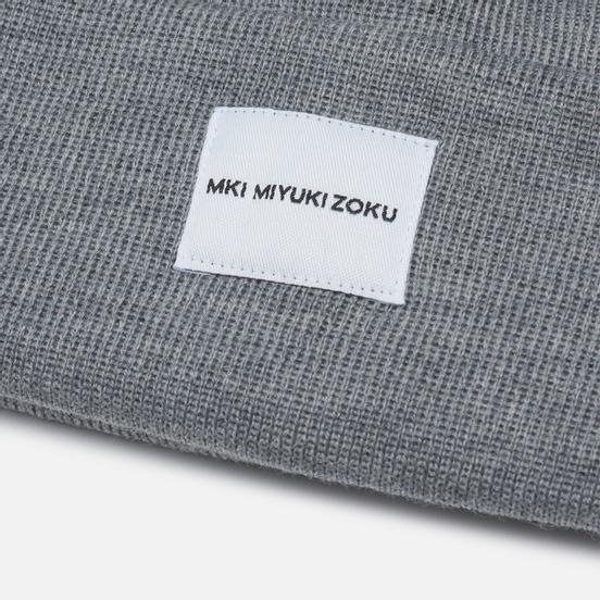 Шапка MKI Miyuki-Zoku Merino Grey