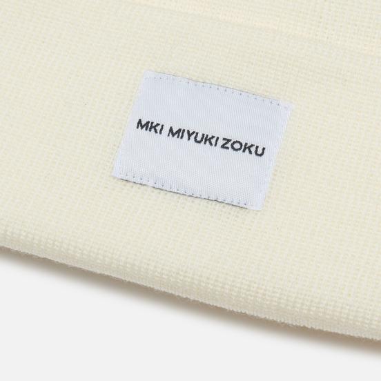 Шапка MKI Miyuki-Zoku Merino Off White
