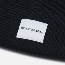Шапка MKI Miyuki-Zoku Merino Short Body Black фото- 1