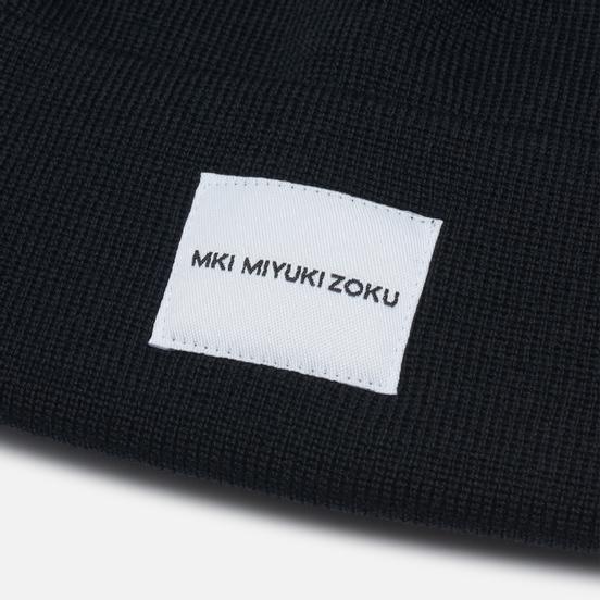 Шапка MKI Miyuki-Zoku Merino Short Body Black