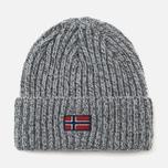 Мужская шапка Napapijri Fassed A Grey Melange фото- 0