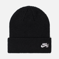 Шапка Nike SB Beanie Fisherman Black/White