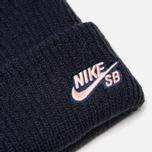 Шапка Nike SB Beanie Fisherman Obsidian/Storm Pink фото- 1