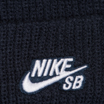 Шапка Nike SB Beanie Fisherman Obsidian/White фото- 1