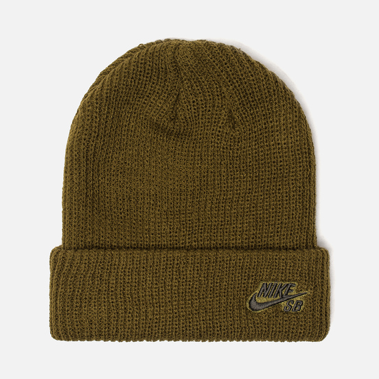 Шапка Nike SB Beanie Fisherman Olive Flak/Sequoia