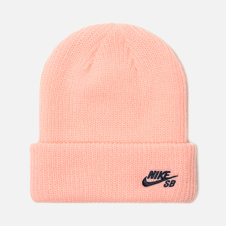 Шапка Nike SB Beanie Fisherman Storm Pink/Obsidian
