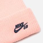 Шапка Nike SB Beanie Fisherman Storm Pink/Obsidian фото- 1