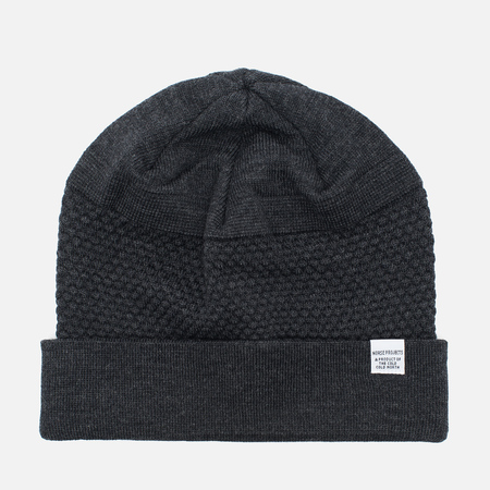 Шапка Norse Projects Bubble Beanie Charcoal Melange