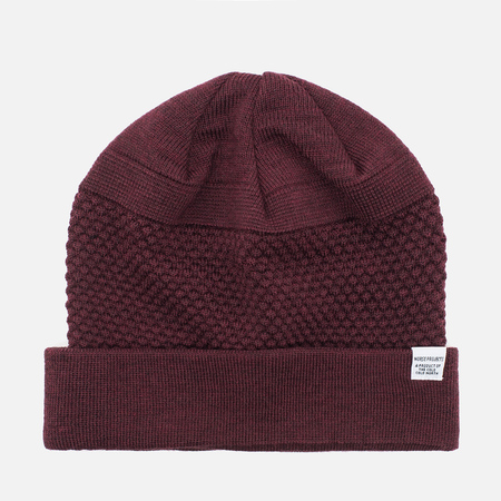 Шапка Norse Projects Bubble Beanie Red Clay